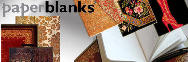 Paperblanks journals, day planners, and address books