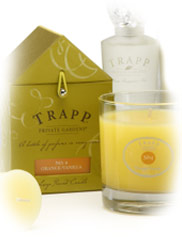 Trapp No 4 Orange Vanilla Candles